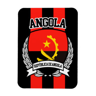 Angola Rectangular Photo Magnet