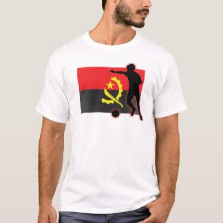 Angola Soccer Striker T-Shirt