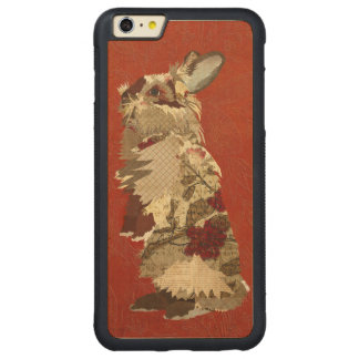 Angora Rabbit Carved iPhone Case Carved® Maple iPhone 6 Plus Bumper