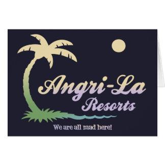 Angri-La II Greeting Card
