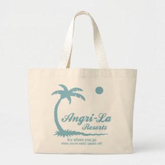 Angri-La Jumbo Tote Bag