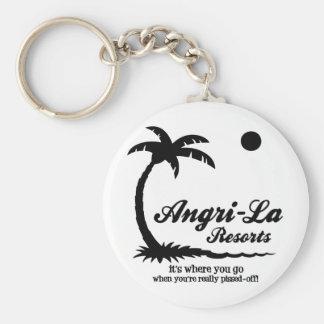 Angri-La Key Chain