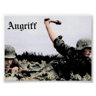 Angriff Poster