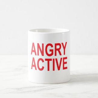 Angry Active Coffee Mug