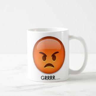 Angry and Happy Emoji Mug! Coffee Mug