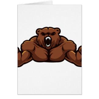 Angry Bear Card