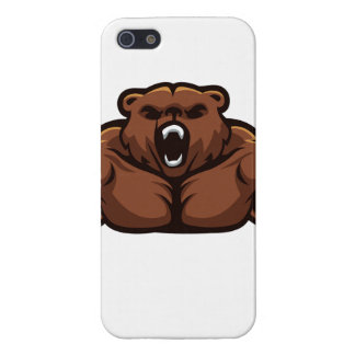 Angry Bear iPhone 5/5S Cover