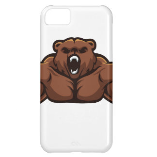 Angry Bear iPhone 5C Case