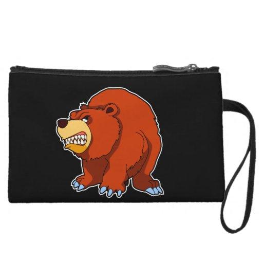Angry Bear MacBook Sleeve Wristlets