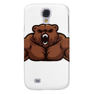 Angry Bear Samsung Galaxy S4 Covers