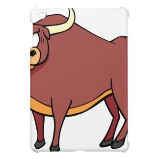 Angry Bull Cartoon iPad Mini Covers