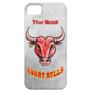 Angry Bull iPhone 5 Cases