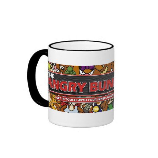 Angry Bunny 2008 Bumper Sticker Mug