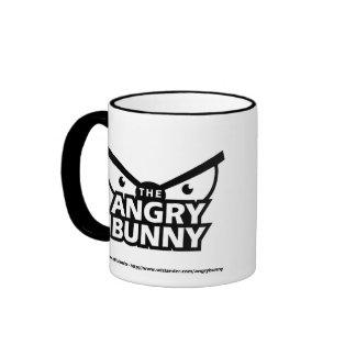 Angry Bunny Abstract Mug 1