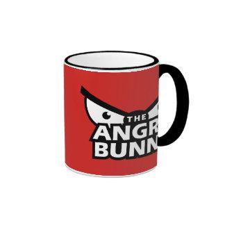 Angry Bunny Abstract Mug 2