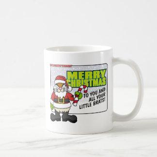 Angry Bunny Christmas Mug 2007