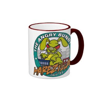 Angry Bunny Harezilla Mug