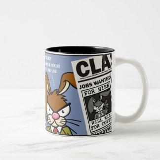 Angry Bunny - Kill for Coffee 3 Mugs