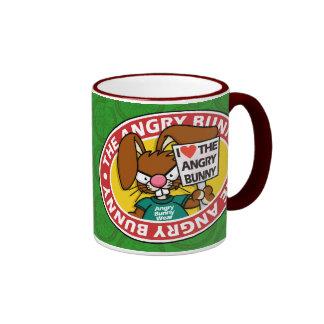 Angry Bunny Love Mug 2
