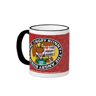 Angry Bunny Love Mug 3