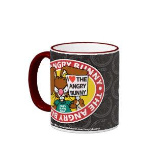 Angry Bunny Love Mug 4