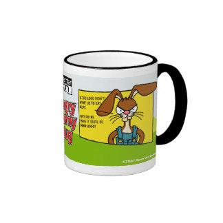 Angry Bunny Meat Mug