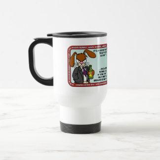 Angry Bunny - Pretty Mug