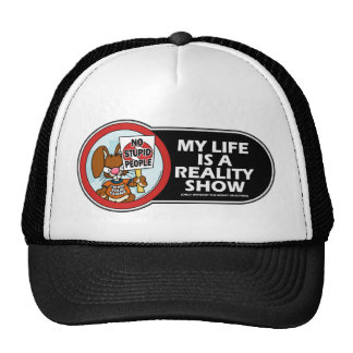 Angry Bunny Reality Show Hat