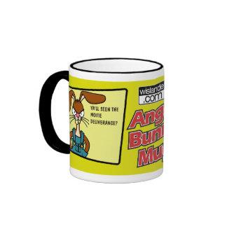Angry Bunny Redneck Mug 2