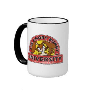 Angry Bunny University Mug