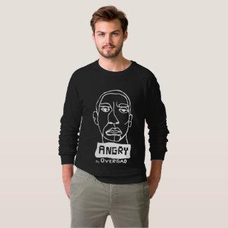 Angry by overgao sweatshirt
