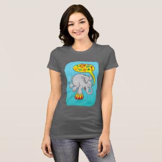 Angry circus elephant saying bad words T-Shirt