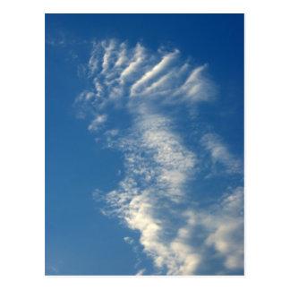 Angry Cloud Postcard