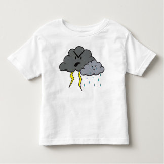 Angry Cloud Toddler T-Shirt