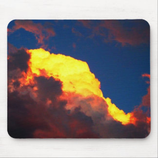 Angry Clouds Mouse Mat