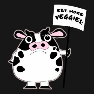 Eat More Cow Cartoon Gifts on Zazzle AU