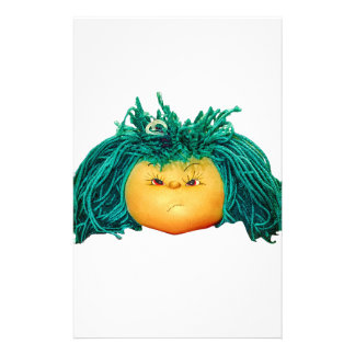 Angry Doll Stationery