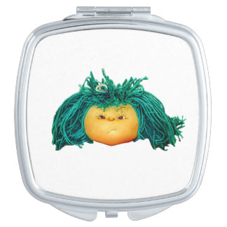 Angry Doll Travel Mirrors