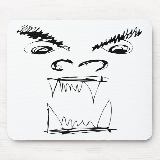 Angry Dragon Mouse Mat