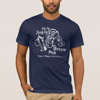Angry Dragon Pub Navy Shirt