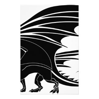 Angry Dragon Stationery
