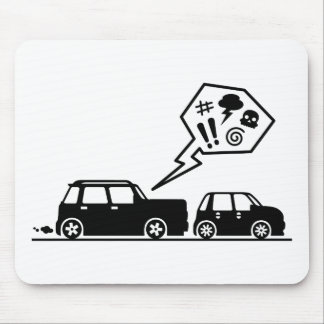Angry Driver Mouse Pad