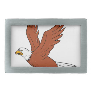 Angry Eagle Flying Cartoon Belt Buckle