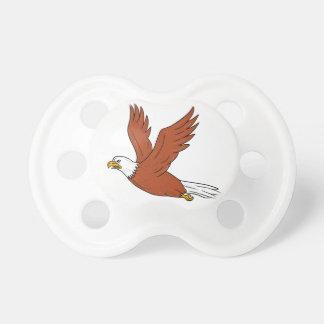 Angry Eagle Flying Cartoon Dummy