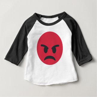 Angry Emoji Baby T-Shirt
