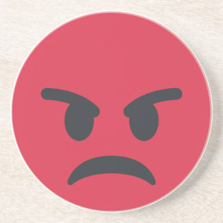 Angry Emoji Coasters