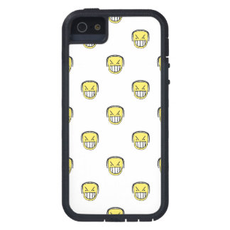 Angry Emoji Graphic Pattern Case For iPhone 5