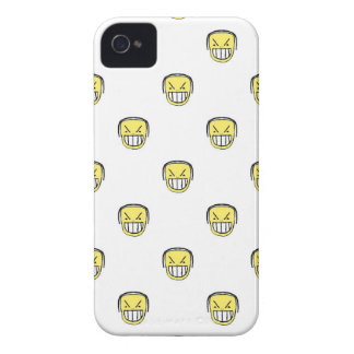 Angry Emoji Graphic Pattern iPhone 4 Case-Mate Case