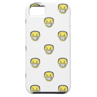 Angry Emoji Graphic Pattern iPhone 5 Cases