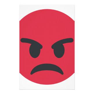 Angry Emoji Stationery